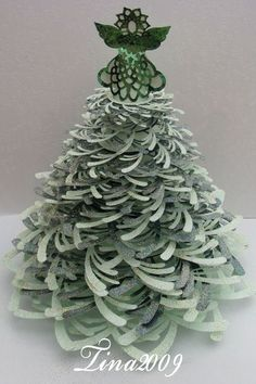 Image result for paper accordion christmas trees giant
