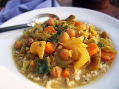 Vegan crockpot coconut curry!