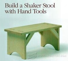 Stool Plans - Furniture Plans and Projects - Woodwork, Woodworking, Woodworking Plans, Woodworking Projects