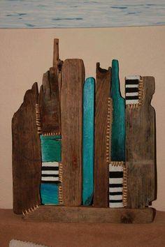 Driftwood art.