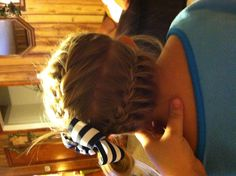 French Braid for little girls