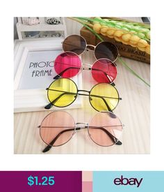 cdd74f1a24b3  0.99 - Women Retro Round Plastic Glasses Lens Sunglasses Eyewear Frame  Glasses Popular  ebay