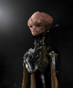 ArtStation - Alien general, Stefanos Sargiotis