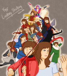 Fan Art from the Official Lindsey Stirling Fan Group