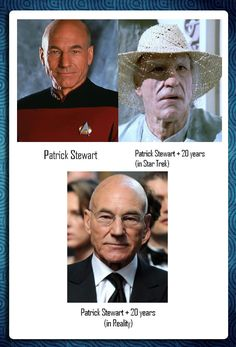Star Trek got it all… except for one thing… well done Sir Patrick Stewart.