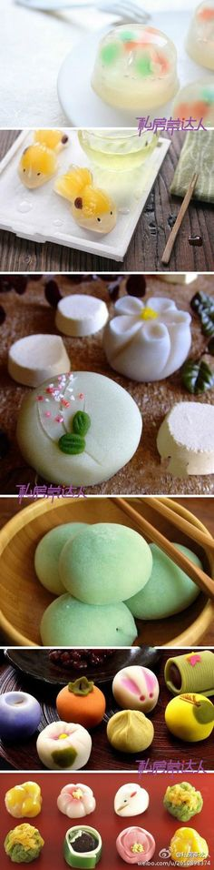 Beautiful Mochi!  One of my favorite foods.