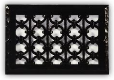 Iron Ring Grille by Majestic Vent Covers. Custom sizes and patterns.