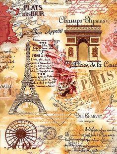 Paris Spring - Vintage Vacation - Biscotti Beige: