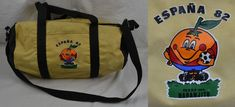 Vintage Espana / Spain 82 1982 World Cup Sports Bag Holdall Naranjito Retro  | eBay