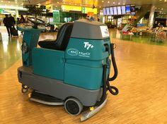 Tennant T7+ en el aeropuerto de Ámsterdam.