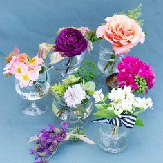 Garden corsages