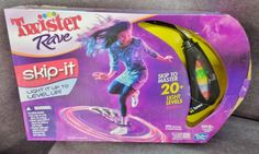 Description: Twister Rave Skip It Light It Up To Level Up 20 plus Light Levels Ages 6 and Up/  Item ID: 90 TARGET