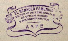 Figura 18. (Página 109).- Sello del Renacer Femenino. Archivo Municipal de Aspe.
