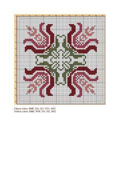 Biscornu Cross Stitch, Cross Stitch Pillow, Cross Stitch Heart, Cross Stitch Borders, Cross Stitch Flowers, Cross Stitch Designs, Cross Stitching, Cross Stitch Embroidery, Cross Stitch Patterns