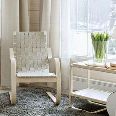 Lounge chair 406 de Alvar Aalto(arquitecto nórdico)