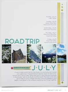 """<p>   <span style=""""background-color: initial;"""">In the past few years our family has traveled a fair amount which is always a great thing but it always leads to an abundance of photos. Because the majority of my scrapbooking these days is done via Project Life® and because my format is one spread per week it can be difficult to squeeze a whole vacation into one or two weekly spreads depending how long we have been gone.</span> </p>"""