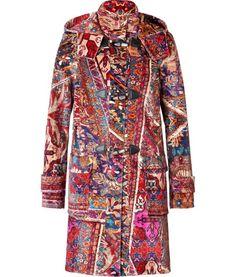 Just Cavalli details here  Persian Kilim Print Duffle Coat Just Cavalli fca41712bff0e