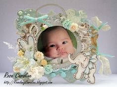 me and my craft corner : My Baby Cute Frame for Marveolus Magnolia Challenge