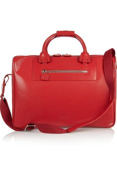 Moncrief perforated leather weekend bag, $3,950