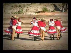 Mexicapan - Ballet Folklorico Lucio Gamboa, musica de Zacatecas