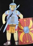 Make a moving Roman Soldier with equipment - fun teaching resource for Romans topic or Latin Primary Teaching, Teaching Resources, Subject Labels, Roman Soldiers, Romans, Fun, Fictional Characters, Primary Education, Novels