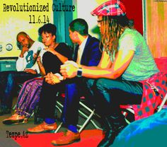 At Arizona State University on Revolutionized Culture panel. Culture Pants (in purple)  by Connie Muhammad Fashion (Coming soon!!)...