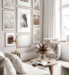 Gallery Wall Inspiration - Shop your Gallery Wall Decoration Inspiration, Living Room Inspiration, Interior Design Inspiration, Home Decor Inspiration, Home Interior Design, Decor Room, Living Room Decor, Living Room Designs, Unique Wall Decor