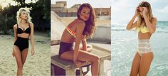 How do you feel about the high-waisted trend? Here are some high waisted bikinis I love!