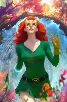 Stanley Artgerm Lau Here is my official variant cover for X-men featuring Jean Grey in her Marvel girl costume. Ms Marvel, Marvel Women, Marvel Girls, Comics Girls, Marvel Heroes, Comic Book Artists, Comic Book Characters, Comic Character, Comic Books Art