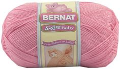 Softee Baby Yarn  SolidsPrettiest Pink *** See this great product.(It is Amazon affiliate link) #liker