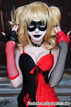 Ryuu Lavitz Cosplay as Harley Quinn