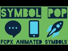 Symbol Pop 2 for Final Cut Pro X - YouTube