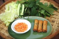 Cha gio- Vietnamese spring rolls from lady rice