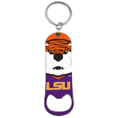 LSU Tigers Mascot Bottle Opener Keychain - Purple - $3.99