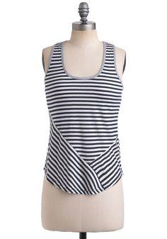 Casual Allure Top #modcloth #top #stripes