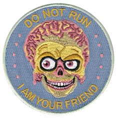 Mars Attacks! patch / la barbuda