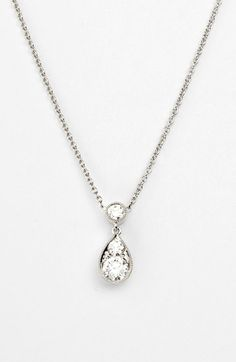Kwiat 'Sunburst' Diamond Teardrop Pendant Necklace available at #Nordstrom