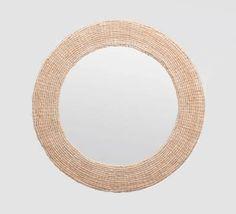 Round Abaca Rope Mirror - Mecox Gardens