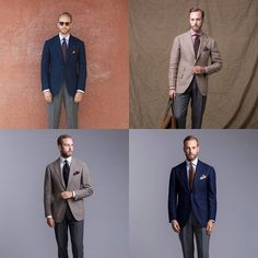 """On Permanent Style today: tips on combining patterns from one of my favourite people @andreasweinas : """"Everyone probably has an opinion about whether you should match stripes with stripes checks with checks and if so in what way. """"My personal approach is to try and have a least one solid garment out of the triangle of shirt jacket and tie. If I wear a checked jacket and patterned tie I tend to prefer a solid shirt; or if a Bengal-stripe shirt and checked jacket then a solid tie. """"The other…"""