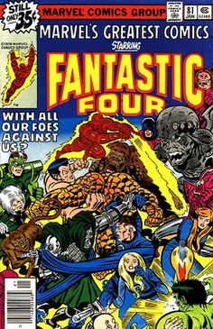 Fantastic Four (Marvel's Greatest Comics) #81