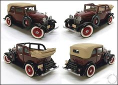Bonnie & Clyde's 1932 Ford V-8 by Franklin Mint, 1:24 DieCast Car, New In Box! #FranklinMint #Ford