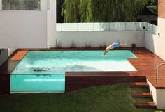 Perfect for my new pool, which will be on a slope....