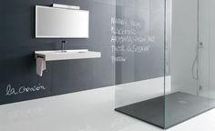 #design essenziale e linee pulite, il tuo bagno in chiave moderna. #bathroom #interiors #arredamento www.gasparinionline.it