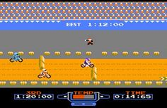 The 100 Best Old School Nintendo Games: excitebike