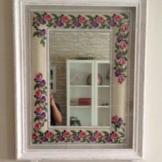 Cross Stitch Designs, Cross Stitch Patterns, Palestinian Embroidery, Borders And Frames, Cross Stitch Embroidery, Sweet Home, Bouquet, Mirror, Orange Flats