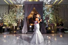 First dance as husband and wife. | Photography: Ikonica | #fourseasons #Toronto #weddings #fsweddings #bridal #springwedding #spring