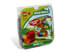 Help your child learn to listen and build with this great LEGO DUPLO Bricks and Books set. Watch your child glow with pride while building Caterpillar and his friends using the easy-to-follow illustrations and engaging story line. Grow Caterpillar Grow. is the perfect introduction to LEGO building fun.