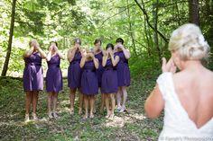 www.farrahsphotography.net #DontLook #Bridesmaids1stLook #FarrahsPhotography #ButterflyGap