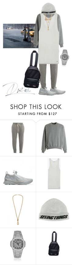 """""""Should Have Left Earlier"""" by stylinwitdre ❤ liked on Polyvore featuring Fear of God, Reebok, Yves Saint Laurent, Gucci, Off-White, Patek Philippe, Vetements, men's fashion and menswear"""