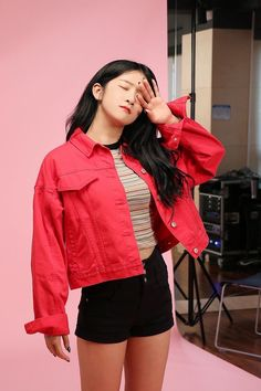 𝑾𝒋𝒔𝒏-𝑬𝒙𝒚 N Girls, Kpop Girls, Kpop Girl Groups, Korean Girl Groups, Kpop Fashion, Korean Fashion, Exy Wjsn, Air Force Blue, Fandom